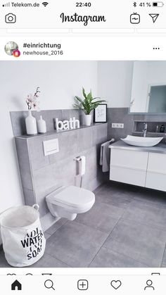 This is a cute bathroom design! - This is a cute bathroom design! Bad Inspiration, Bathroom Inspiration, Bathroom Ideas, Bathroom Trends, Bathroom Humor, Bathroom Mirrors, Bathroom Interior, Modern Bathroom, White Bathroom