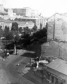 Ilyen is volt Budapest - Krisztina körút Old Pictures, Old Photos, Budapest Hungary, Historical Photos, Arch, History, Landscapes, Historical Pictures, Paisajes