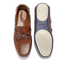 Salvatore Ferragamo Mango Boat Shoe Tan