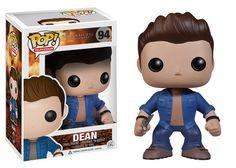 Pop! TV: Supernatural - Dean | Funko  ||| There are Sam and Dean dolls, but no Castiel!?!? NOOOO!!! :(