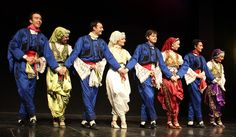 Turkish Folk Dance from a festival.