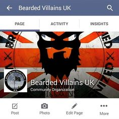 Head over to Face Book and check out the latest news from @beardedvillainsuk Offical UK chapter of @beardedvillains  It's your page Brothers get involved any ideas see @rich_coles ⚔☠⚔ #beardedvillain #beardvillains #stayloyal