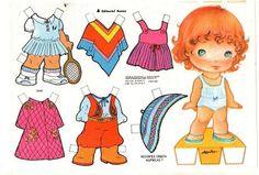 muñecas recortables, paper dolls, Бумажные куклы , bambole da carta, poupées en papier, 纸娃娃 ,: - editorial roma