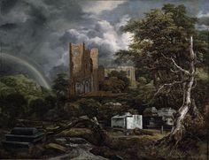 Jacob van Ruisdael – Detroit Institute of Arts 26.3. The Jewish Cemetery (1654-1655)