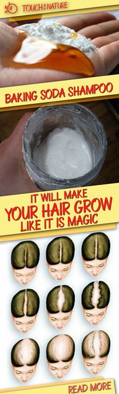 Baking soda is one of the most popular home remedies for which new uses are continuously discovered.  One such new discovery is the use of baking soda for improving the quality and strength of your hair.