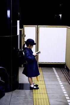 Schoolgirl in Jpan