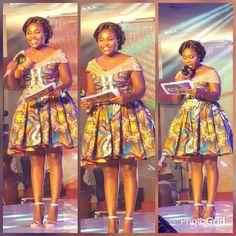 Hottest Photos of Emefa Akosua Adeti in African Prints - Wedding Digest Naija African Dresses For Kids, Latest African Fashion Dresses, African Dresses For Women, African Print Dresses, African Print Fashion, African Attire, African Prints, Ankara Fashion, African Women