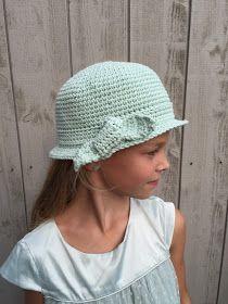 Ak at home : crochet * zomerhoedje