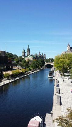 Ottawa, Canada September  9, 2014 - Rideau Canal Ottawa Canada, September 9, River, Outdoor, Outdoors, Outdoor Games, The Great Outdoors, Rivers