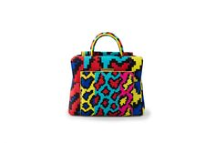 Azzurra Gronchi spring/summer bags collection, mini India pixel front