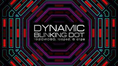 Dynamic Blinking Dot Video Animation | 6 clips | Full HD 1920×1080 | Looped | H.264 | Can use for VJ, club, music perfomance, party, concert, presentation | #abstract #beat #box #dance #disco #dots #dynamic #edm #fast #glow #loops #party #pattern #retro #vj