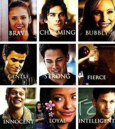 Of course Damon in charming