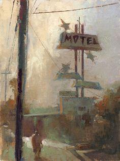 William Wray - Motel, Hawaiian Gardens 12x16 ( 2007)