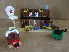3825 Lego SpongeBob SquarePants Complete The Krusty Krab minifig #LEGO