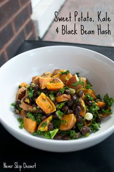 A super easy, healthy meal to balance out all those holiday treats!