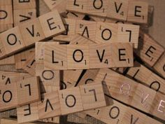 Scrabble Love Magnets (10ct) | Green Bride Guide