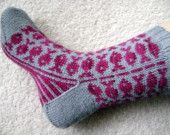 Swedish Fish sock pattern - might use it for Sofias new mittens...