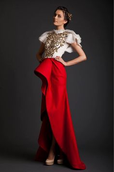 Evening Dresses | Krikor Jabotian Akhtamar Collection - Aisle Perfect ®