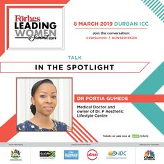 I t's Wednesday and our #WCW goes out to the captain of this Ship Dr P who will be under the spotlight at the upcoming Forbes Africa Leading Women Summit in Durban.  #womeninspiringwomen #drpjourney impartingknowledge