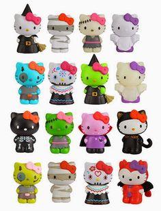 Unha da Semana e Hello Kitty Halloween
