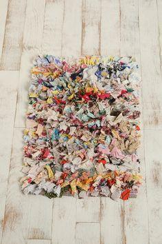 scarf strips shag rug. i want thisss