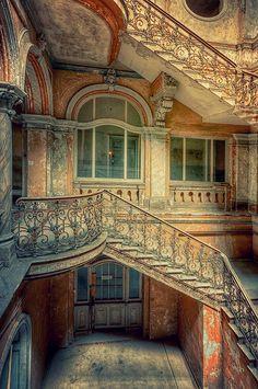 Abandoned Palace, Poland by Pati Makowska