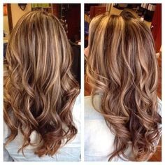 brown hair with blonde highlights and blonde lowlights - Google Search