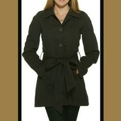 """✖JACK by BB DAKOTA HERRINGBONE COAT✖ ✖BB Dakota coat is constructed of lightweight herringbone  ✖Pointed collar  ✖Button front ✖Waist accented with matching belt ✖Measures 32"""" long from shoulder to hem ✖Fully lined ✖100% cotton  ✖Lining 100% polyester✖❤✌ Jack by BB Dakota Jackets & Coats"""
