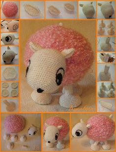 patron+oveja+de+crochet+amigurimi.jpg (1000×1305)