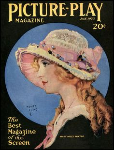 Henry Clive - Mary Miles Minter - Picture-Play Magazine - January 1923 - via The Pictorial Arts