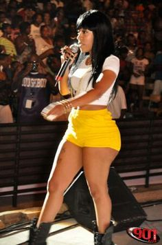 K Michelle Blue Hair Styles big booty girl k michelle more michelle style lov separation reasons ...