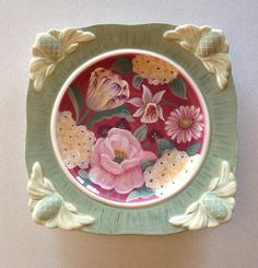 10 best Certified International Floral Tapestry Dishes by Pamela ...