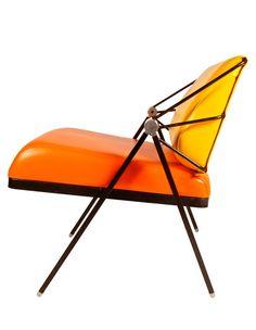 """design-is-fine: """" Gastone Rinaldi, chair, 1970s. Italy. Via VanM """""""
