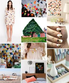 Mood Board Monday - Triangles