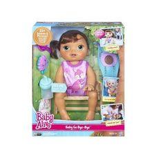 Baby Alive Go Bye Bye Brunette Doll Pretend Play Dolls New Sealed #Hasbro