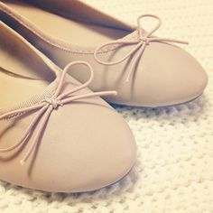 nude flats from ASOS