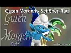 Guten Morgen, schönen Tag ♥ Schlumpf & Schlumpfine - Smurf & Smurfette - YouTube