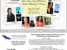 Listen to the Christian Authors on Tour (CAOT) Blog Talk Radio Show Friday (5/19/17) at 2 p.m. (EST) to learn more about the first stop of the 2017 Declaring the Glory of the Lord: Christian Authors on Tour (CAOT)!