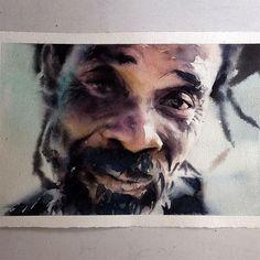 Sábado, #aquarela #watercolor. Últimas vagas para meu workshop em SP, dias 1 e 2 de outubro. Inscrições: contato@pleinairstudio.com.br.