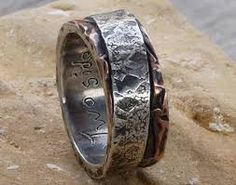 making rings out of sterling sheet metal - Google Search