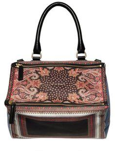 Medium Pandora Multi Prints Pvc Bag - Lyst