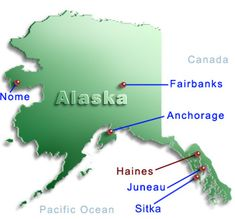 Haines Alaska Map |