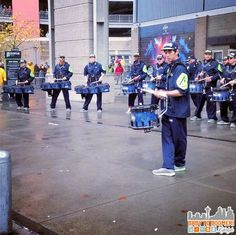 Seahawks Blue Thunder Drumline - Verizon Experience at Touchdown City, CenturyLink Field #VZWBuzz #MoreSeattle ad Seattle