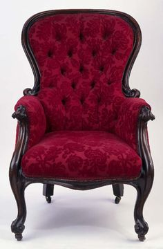gorgeous gothic chair