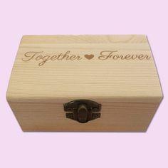 Together Forever Engraved Little Box