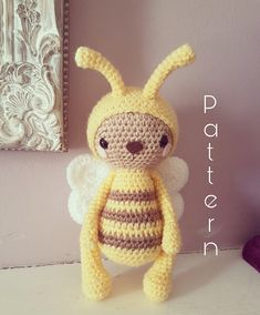 Thankyou for taking the time to look at my fabulous billy the bumble bee. He is truly a one of a kind bee. Any crocheter from beginner upwards can make their very own. If you have any questions then dont hesitate to message me. I will reply as quick as i can. I hope you enjoy making