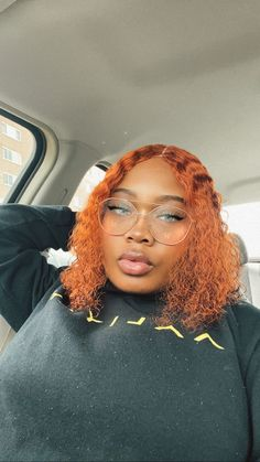 CUSTOM COLOR, GINGER WIG, CURLY WAVE WIG. Ginger Blonde Hair, Eye Makeup, Hair Makeup, Curls For The Girls, Face Reference, Dye My Hair, Peruvian Hair, Colorful Hair, Brazilian Hair