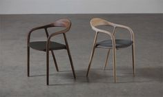 Artisan Neva chair (diffent solid woods available) EUR via www. Custom Made Furniture, Solid Wood Furniture, Furniture Design, Furniture Ideas, Kitchen Chairs, Dining Chairs, Desk Chairs, 139, Swinging Chair