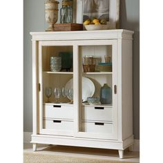 Liberty Furniture Morris Display Cabinet | from hayneedle.com $1500.00