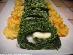 Rotolo di spinaci leggero